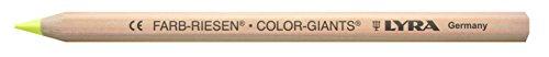LYRA color Gigantes Natural Coloración lápices Paquete de 12 Zink Gelb