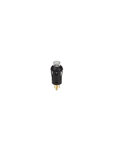 Velleman - R1360B Schieber-Miniatur-Rund-SPST (allum-Teint)-1P-mit cbles- 174184 -