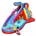 Happy Hop - Aire de Jeux Gonflable Aquatique Requin