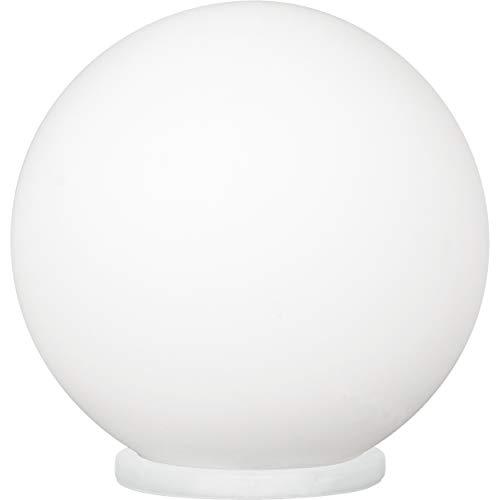 Eglo ILA1292123 Lampe, Métal, E27, Blanc, 20 cm X 20 cm