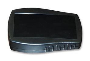 Bud Industries Rack (ENCLOSURE, HAND HELD, ABS, BLACK HH3610B By BUD INDUSTRIES)