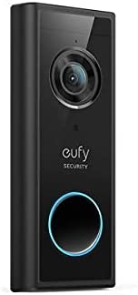 eufy Security, Wireless Add-on Video Doorbell with 2K Resolution, 2-Way Audio, Simple Self-Installation, HomeB