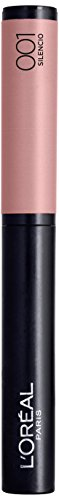 L'Oréal Paris Infaillible Lippenstift X3 Matte, 001 Silencio - Puder Lipstick mit ultra-weichem Applikator - farbintensives, mattes Finish & 8h Halt, 1er Pack (Matt F Lipgloss L Cosmetics E)