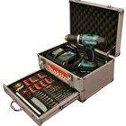 TALADRO Percusión BATERIA MAKITA DHP 453RYEX 18V con 2 baterías + Case