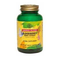 Solgar SFP Elderberry Berry Extract Vegetable Capsules from Solgar