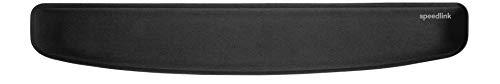 Speedlink Ergonomic Wrist Rest - Ergonomische Handgelenkauflage für Büro/Gaming/PC/Notebook/Laptop, schwarz