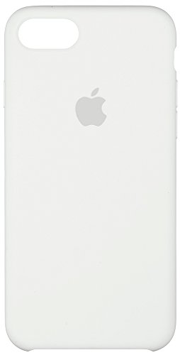 Apple custodia silicone per iphone 7 - bianco
