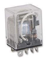 RELAY, DPDT, 120VAC, 28VDC, 15A LY2 12VDC By OMRON INDUSTRIAL AUTOMATION 120vac Power Relay