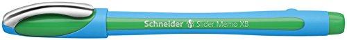 schneider-150204-slider-memo-xb-stylo-bille-vert-lot-de-10