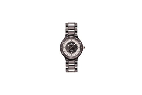 Charmex San Remo Homme 43mm Noir Céramique Bracelet Date Montre 2695