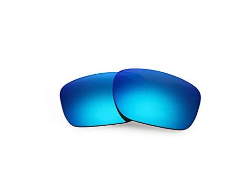 Polarisierte Ersatzgläser für Oakley Silver Metals OO9262 Gr. 85, blau