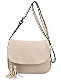 Tradico® PU Leather Women Tassel Messenger Bag