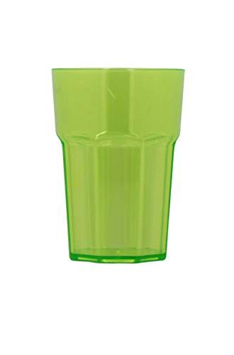 TheKitchenette Verre americain Vert 44 cl/incassable/Transparent
