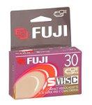 Fuji SVHS-C 30-Minute Tape (SVHSTC30)
