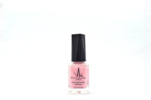 Vivien Kondor Henna Halal wasserdurchlässig Nail Polish–Pink Rose