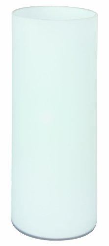 Leuchte Glas Tischleuchte (Paulmann 770.10 Noora Tischleuchte max.1x42W E14 Opal 230V Glas 77010 Nachttischlampe Nachtlicht)