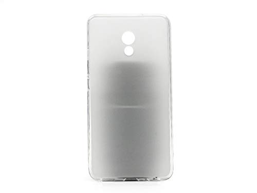 etuo Meizu Pro 6 Plus - Hülle FLEXmat Case - Weiß - Handyhülle Schutzhülle Etui Case Cover Tasche für Handy