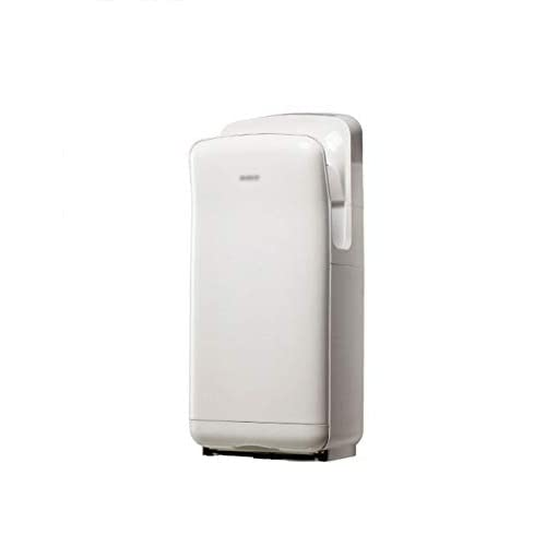 21REAkZbBcL. SS500  - Double-sided Jet Smart Hand Dryer, Wall-mounted High Speed, No Noise, High Power, Commercial, Household, with UV Germicidal Lamp, 1850W, White