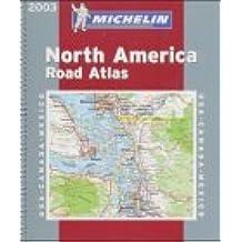 Atlas routiers : Amérique du Nord, N° 99520 (petit format spirale)