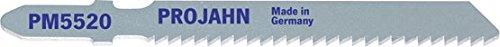 Projahn 63202 PM5520 Lame de scie sauteuse en acier rapide HSS VE5 55 x 2,0 mm