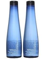 Shu Uemura Art of Hair Muroto Volume double Lot: Pure légèreté Shampooing pour cheveux fins 2x 300ml