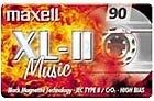 Maxell XL II 90 Audio-Kassette (90min)