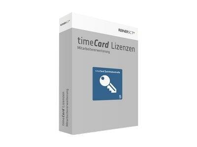 REINERSCT timeCard 6 Erweiterung Zutrittskontrolle 5 Mitarbeiter ohne Chipkarte oder Transponder