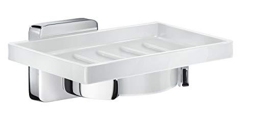 Smedbo ICE Seifenschalenhalter Verchromt/Porzellan OK342P -