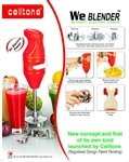 Celltone we blender without electric pow...