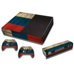 RISHIL WORLD Russian Flag Pattern Decal Stickers for Xbox One Game Console