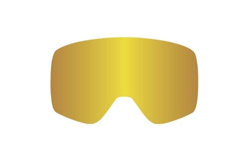 Dragon Alliance NFX Ersatzlinse, Sonnenbrille Herren, NFX RPL, Gold ION