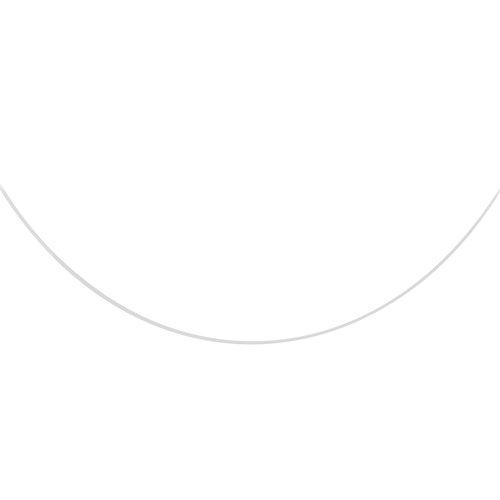 So Chic Bijoux - Collier Femme 39 cm Fil Nylon Fermoir Argent 925