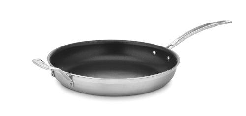 Cuisinart Multiclad Pro Edelstahl Aluminiumguss-Pfanne, edelstahl, edelstahl, 12-Inch -