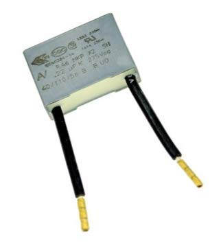 LED Entstörer Kondensator bei Blinkenden, nicht ausgehenden LED Lampen, Entstörkondensator 0,22µF 275V X2 Radial.