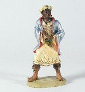 Bergische Krippe König, Mohr - Grösse/Maßstab: 16 - Krippe König Kostüm