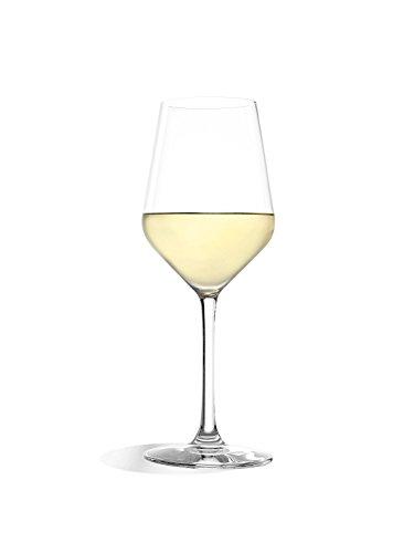 Copas Revolution para vino blanco de Stölzle Lausitz, de 365ml, juego de 6, copas para vino blanco sofisticadas y de alta calidad, copas para vino blanco de uso versátil - 2