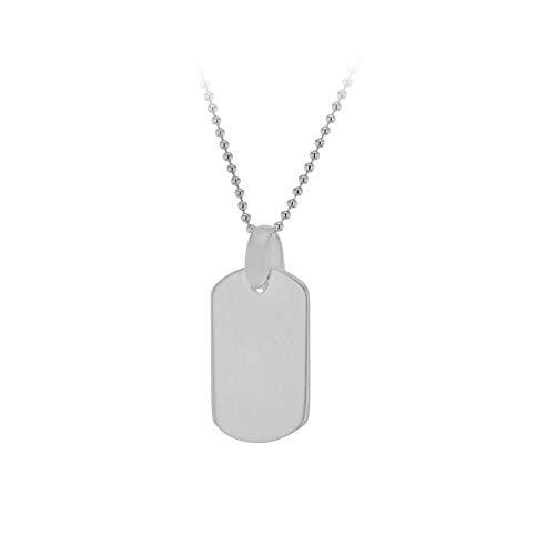 36 Einzel -, (Tuscany Silver Damen Sterling Silber verstellbare Ball Halskette mit Einzel Hunde Tage 36 cm / 14 zoll -41 cm/16 zoll)