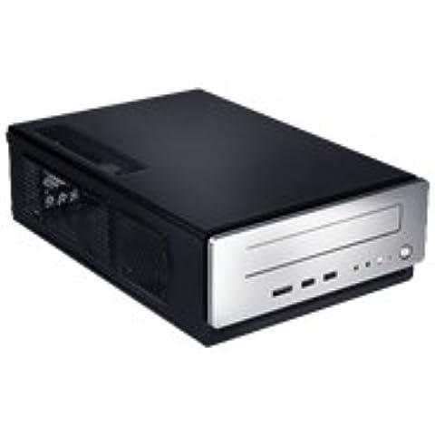 Antec ISK 310-150 - Caja de ordenador de sobremesa con fuente de alimentación (150 W, mini-ITX), negro y gris