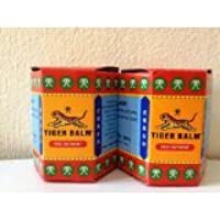 New Tiger Balm Red Pain Relieving Rub Ointment Muscule Back Joint Neck Pain Relief 30 G (Pack of 2 Jars)