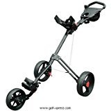 Masters 5 Series 3 Wheel Cart – Black