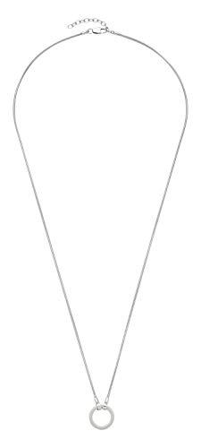JEWELS BY LEONARDO DARLIN\'S Damen-Halskette Basic, Edelstahl mit Karabinerverschluss, CLIP & MIX System, Länge 850 mm, 011600