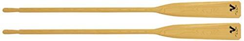 Standard Sangle de démarrage the Stork - holzpaddel / rame bois / Panneau de bois pour rettungsboote, angelnboote, BATEAUX 165/180/ 195/210/225/240 cm - Paire (2 coincé) - 240cm