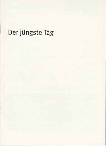 Programmheft Der jüngste Tag von Ödön von Horvath. Premiere 22. Januar 2004 Residenz Theater Spielzeit 2003 / 2004 Heft Nr. 43