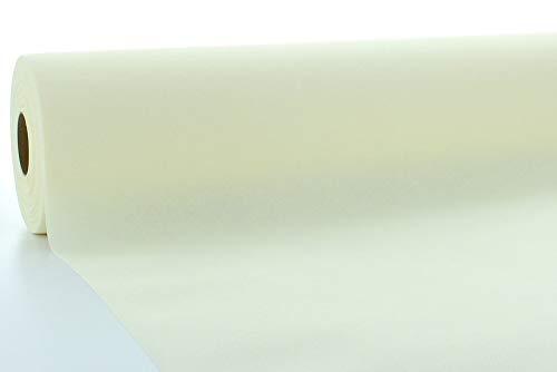 Tischdeckenrollen Uni | Rollenware 120 cm x 40 m aus Airlaid stoffähnlich | Mank Einmal-Tischdecke für Gastronomie | (Champagner, 120 cm x 40 m) (Restaurant-tischdecke Rolle)