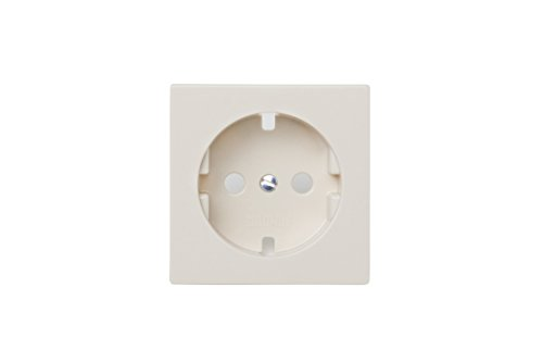 Jung AS500–Tabakkopf für Datenbanken Zentralplatte weiß elfenbein