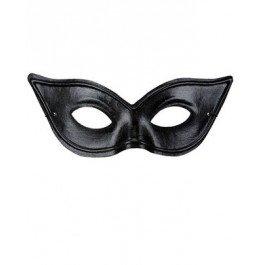 Glänzende Black Cat Maske