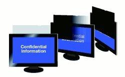 MagicScreen Blickschutzfilter 21 Zoll (53,3 cm) Wide 452,8 x 283,2 mm für Monitore, Bildschirme, Laptops, Notebooks und PC mit Haltelaschen