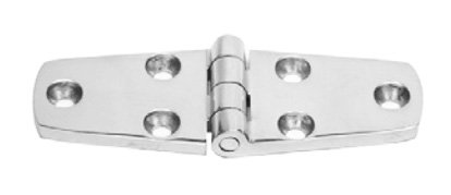 Dutyhook 40X52 Hinge, Polished, Stainless Steel AISI 316