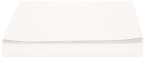 AmazonBasics Bettlaken, Mikrofaser, 180 x 290 + 10 cm - Creme