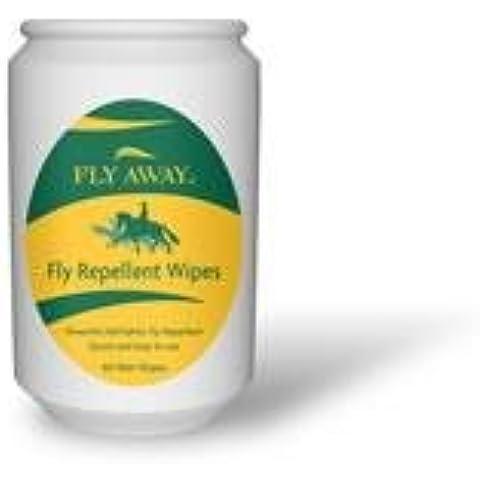 Fly Away defleqt Fly & repelente de insectos toallitas
